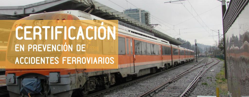 Colegio con certificación en la prevención de accidentes ferroviarios